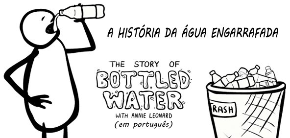 A Historia da água engarrafada